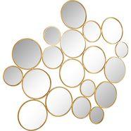decoratieve spiegel »spiegel cirkel« goud