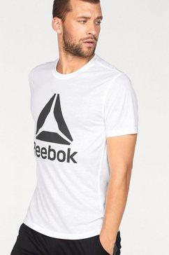 reebok functioneel shirt »wor sup 2.0 tee bl« wit