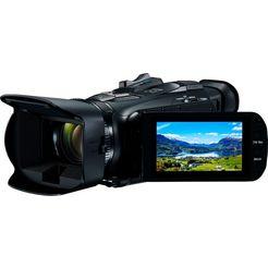 canon »legria hf-g26 schwarz« camcorder (full hd, 20x optische zoom) schwarz