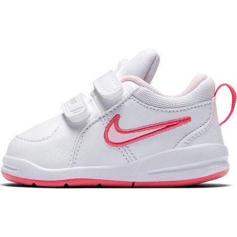 Babyschoentjes Nike Pico wit, roze