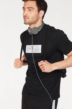 fila t-shirt »thunder tee short sleeve« zwart