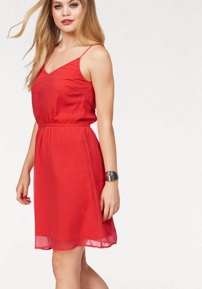 Vero Moda zomerjurk WONDA rood