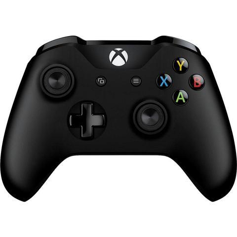 Microsoft Wireless Controller voor Xbox One (S) (zwart)