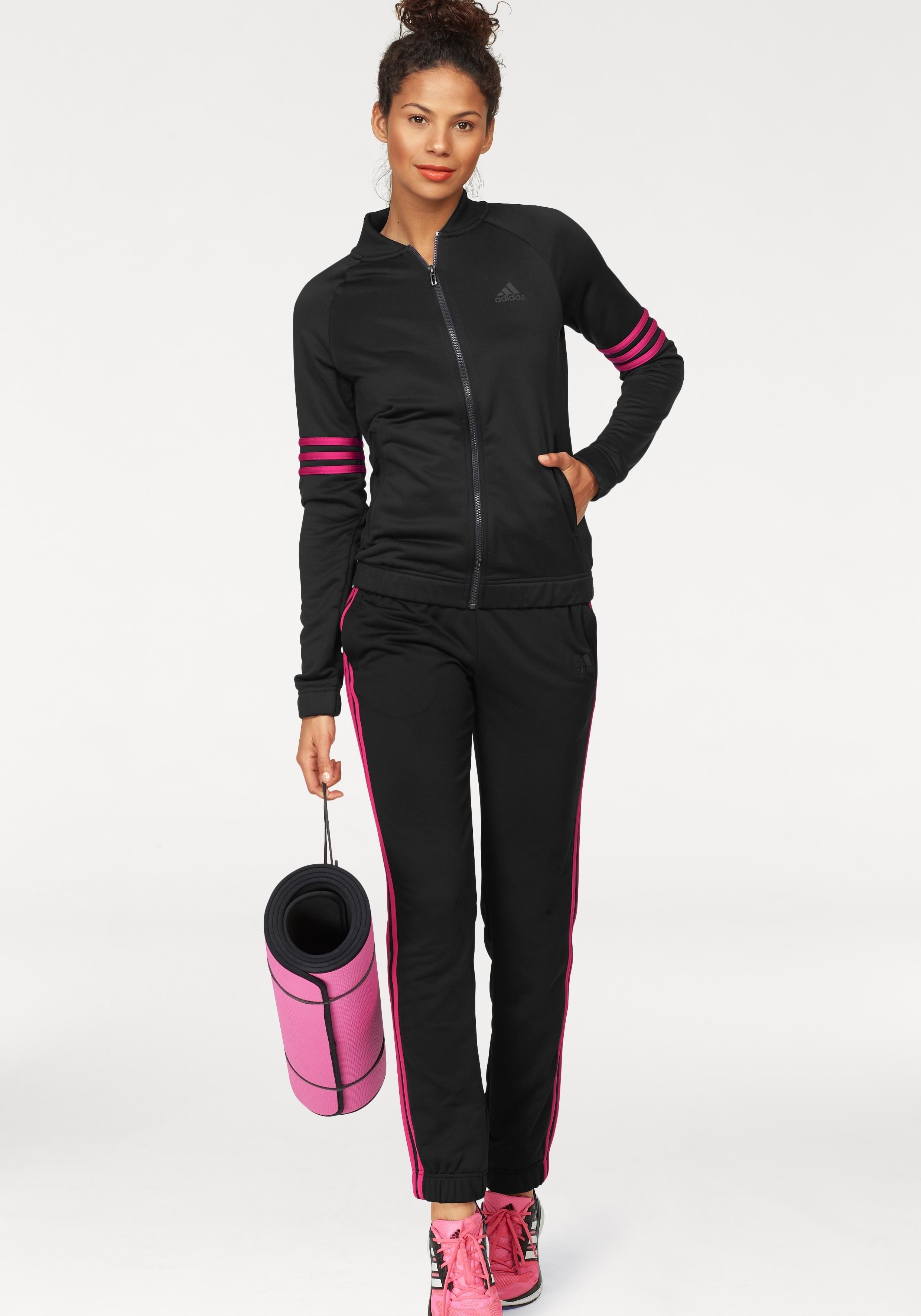 adidas Performance trainingspak »WOMEN TRACKSUIT POLYESTER COSY« (set, 2-delig) goedkoop op otto.nl kopen