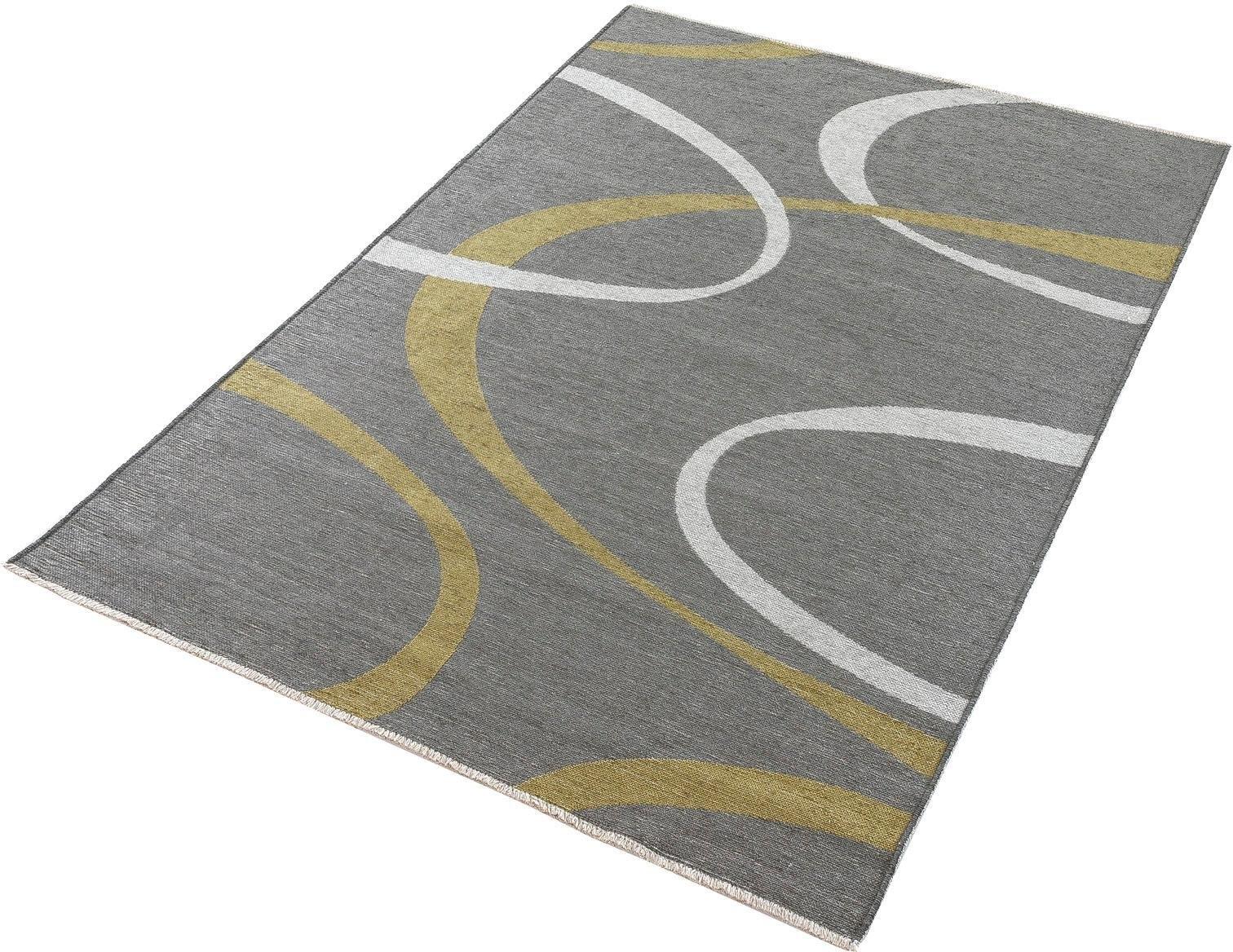 Trend Teppiche Loper, »Machka 3814«, rechthoekig, hoogte 7 mm, machinaal getuft in de webshop van OTTO kopen
