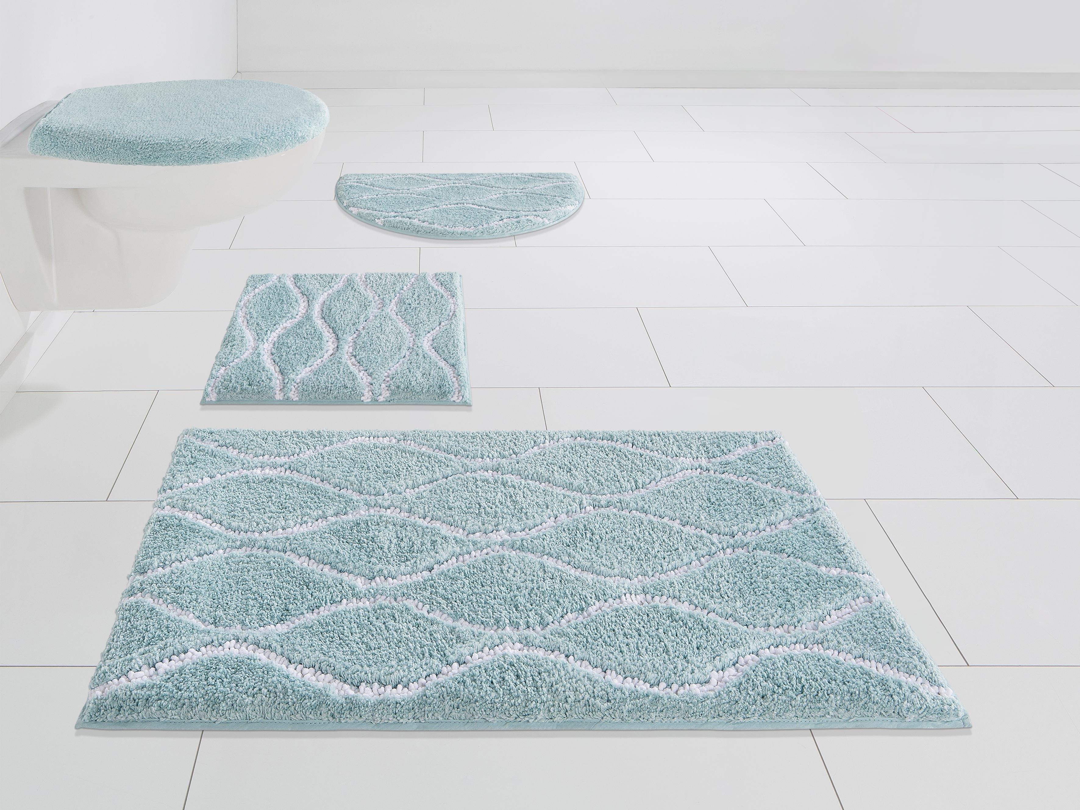 Home Affaire Badmat »Hila«, hoogte 18 mm, met antislip-coating, geschikt voor vloerverwarming - gratis ruilen op otto.nl