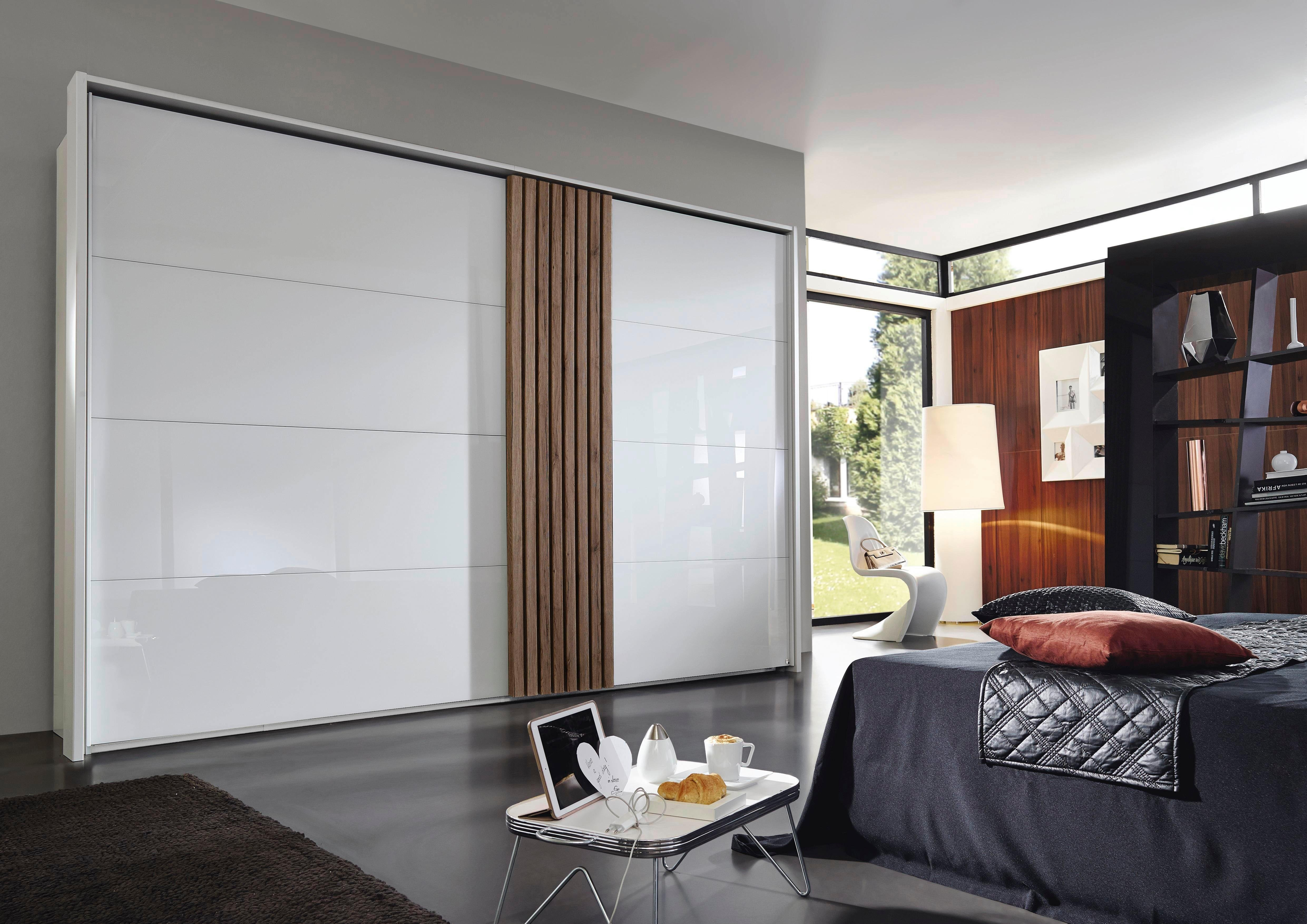 rauch BLACK Zweefdeurkast Tegio met houtdecorafwerking voordelig en veilig online kopen