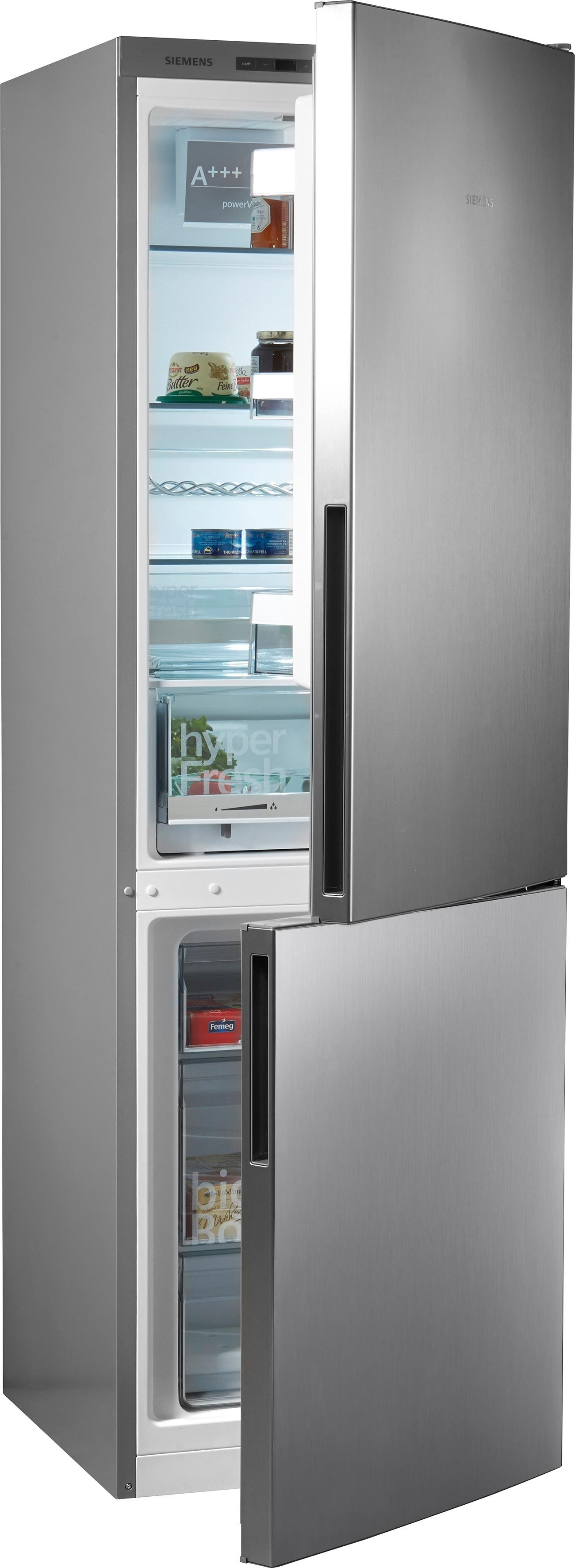 Siemens koel-vriescombinatie iQ300, 186 cm hoog, 60 cm breed voordelig en veilig online kopen