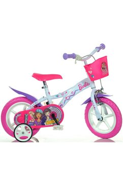 barbie kinderfiets »barbie«, 1 versnelling wit