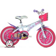 kinderfiets, dino, »barbie«, in 12-14 of 16 inch wit