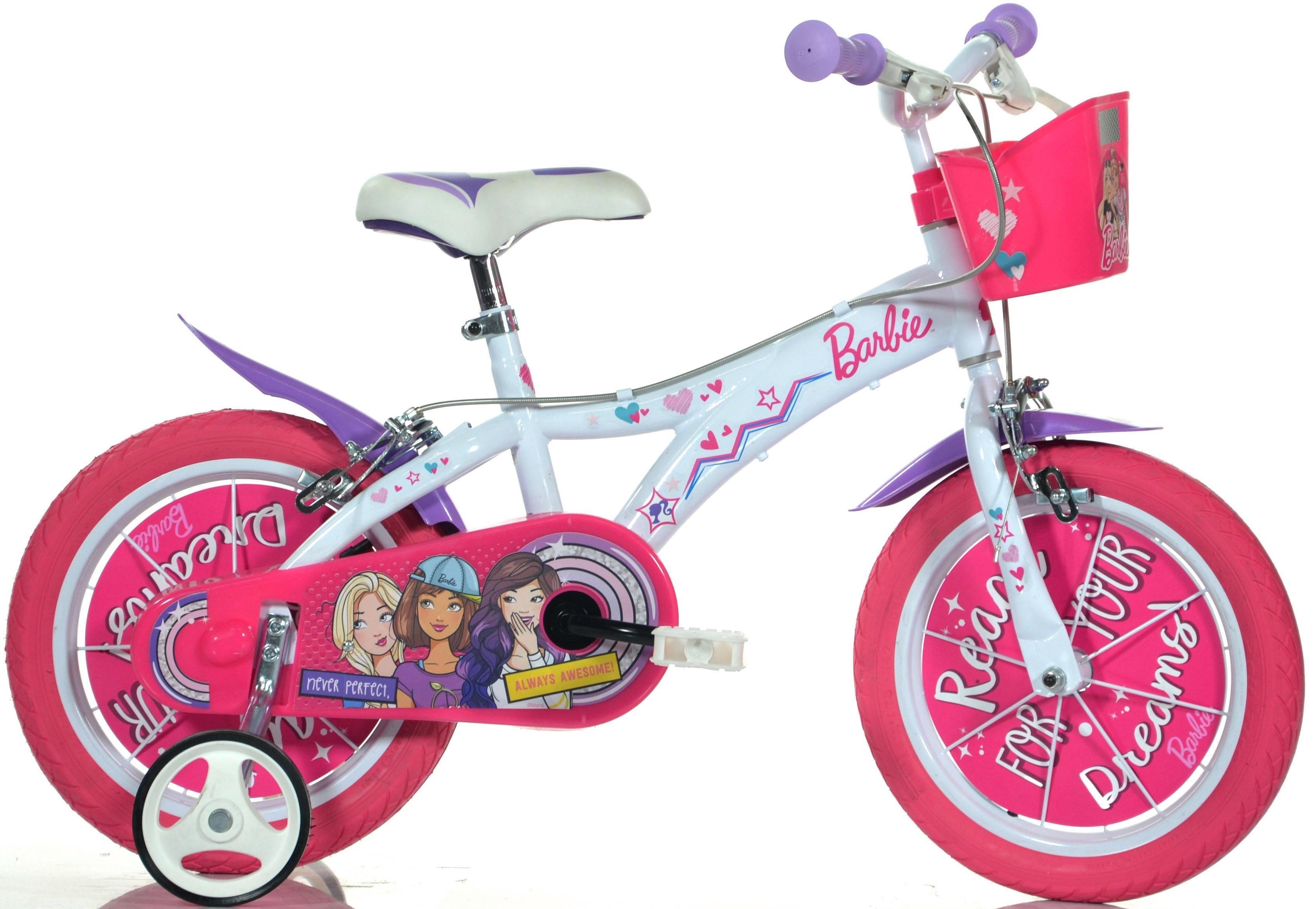 Barbie Kinderfiets, Dino, »Barbie«, in 12/14 of 16 inch - gratis ruilen op otto.nl