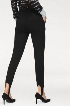 pepe jeans persplooibroek »pola« zwart