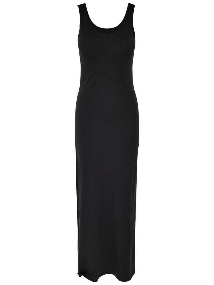 ONLY Effen Maxi jurk zwart
