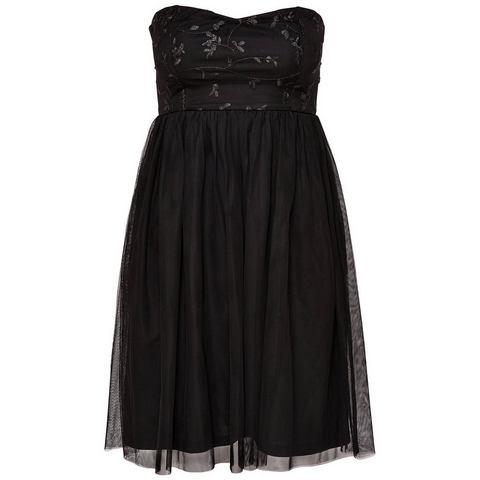 ONLY Tube Mouwloze jurk zwart