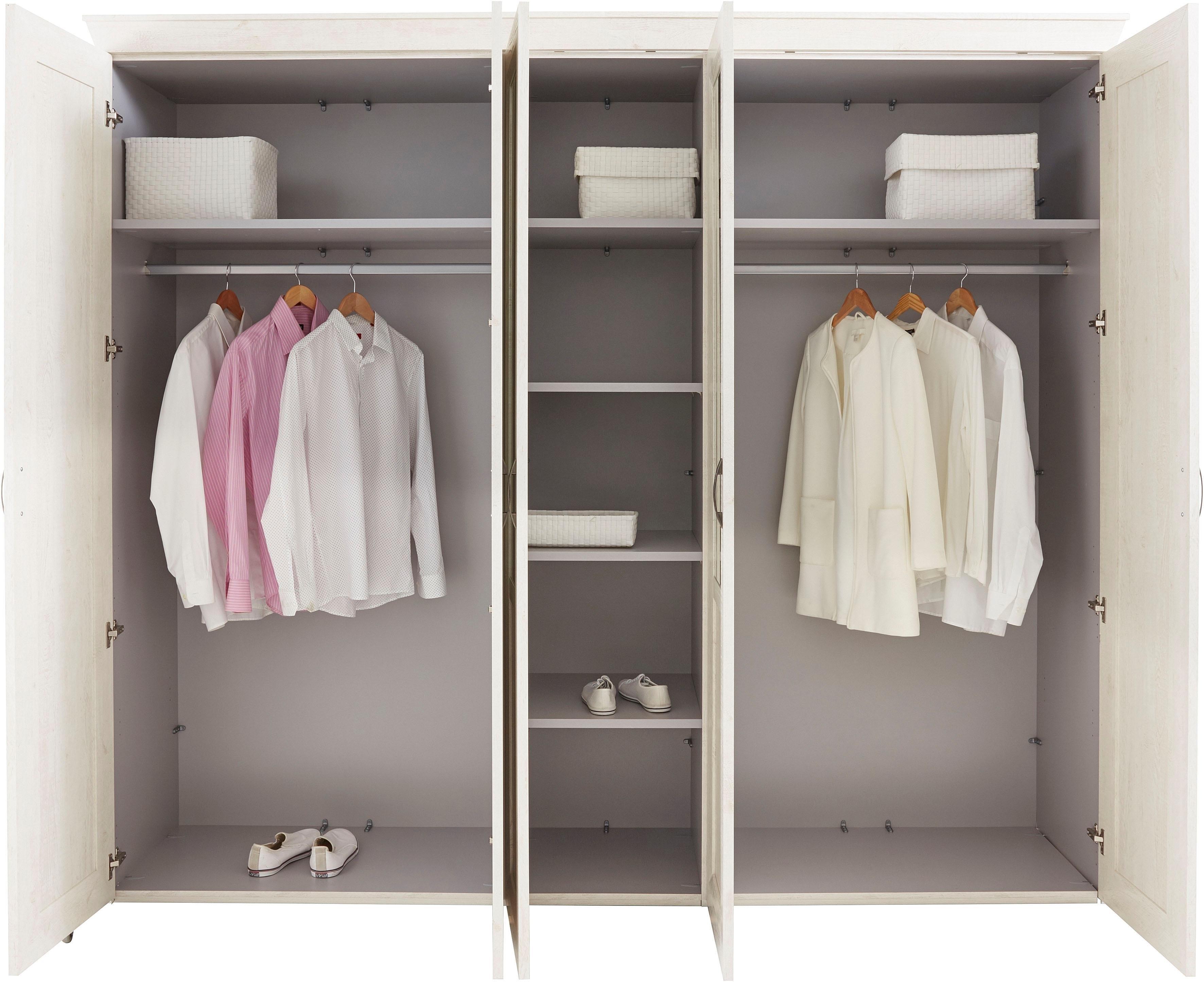 Forte kledingkast »kashmir« met spiegelvlakken in de online shop otto