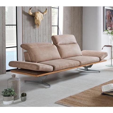Places of Style 2-zitsbank Bogia II inclusief verstelbare rug- en armleuningen