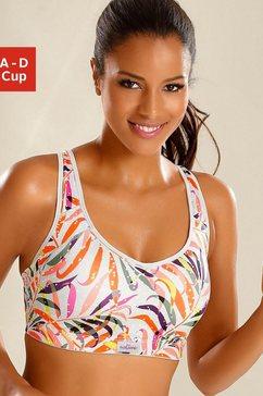 lascana active sport-bh met steuncups multicolor