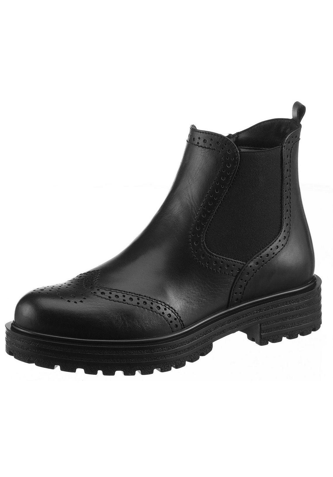 Tamaris Chelsea-boots Janni Online Shop Zwart