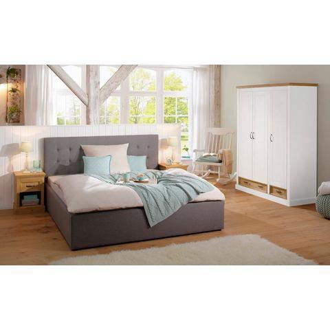 Home Affaire garderobekast (3-deurs) Selma voor de slaapkamer, van massief hout, hoogte 190 cm