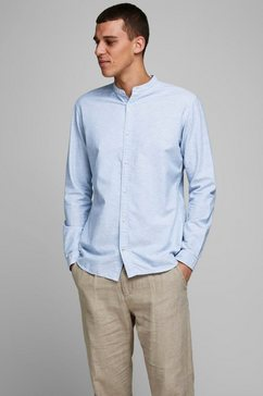 jack  jones overhemd met lange mouwen summer band shirt blauw