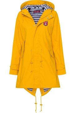 derbe regenjas »traval friese stripe« geel