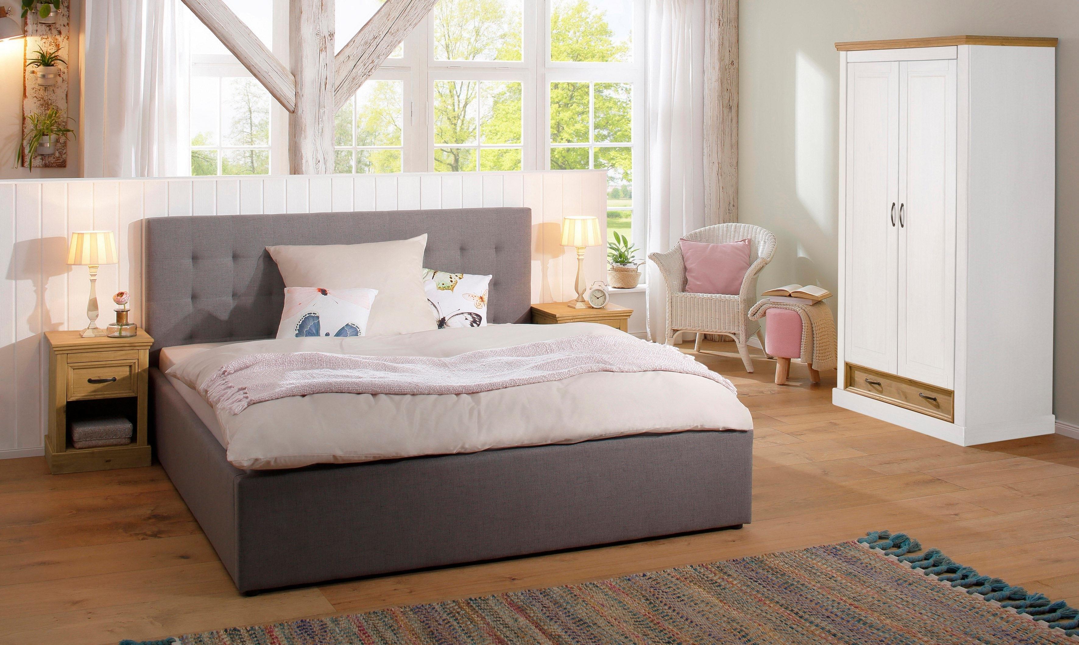 Slaapkamer Massief Hout : Home affaire tweedeurs garderobekast »selma« voor de slaapkamer van