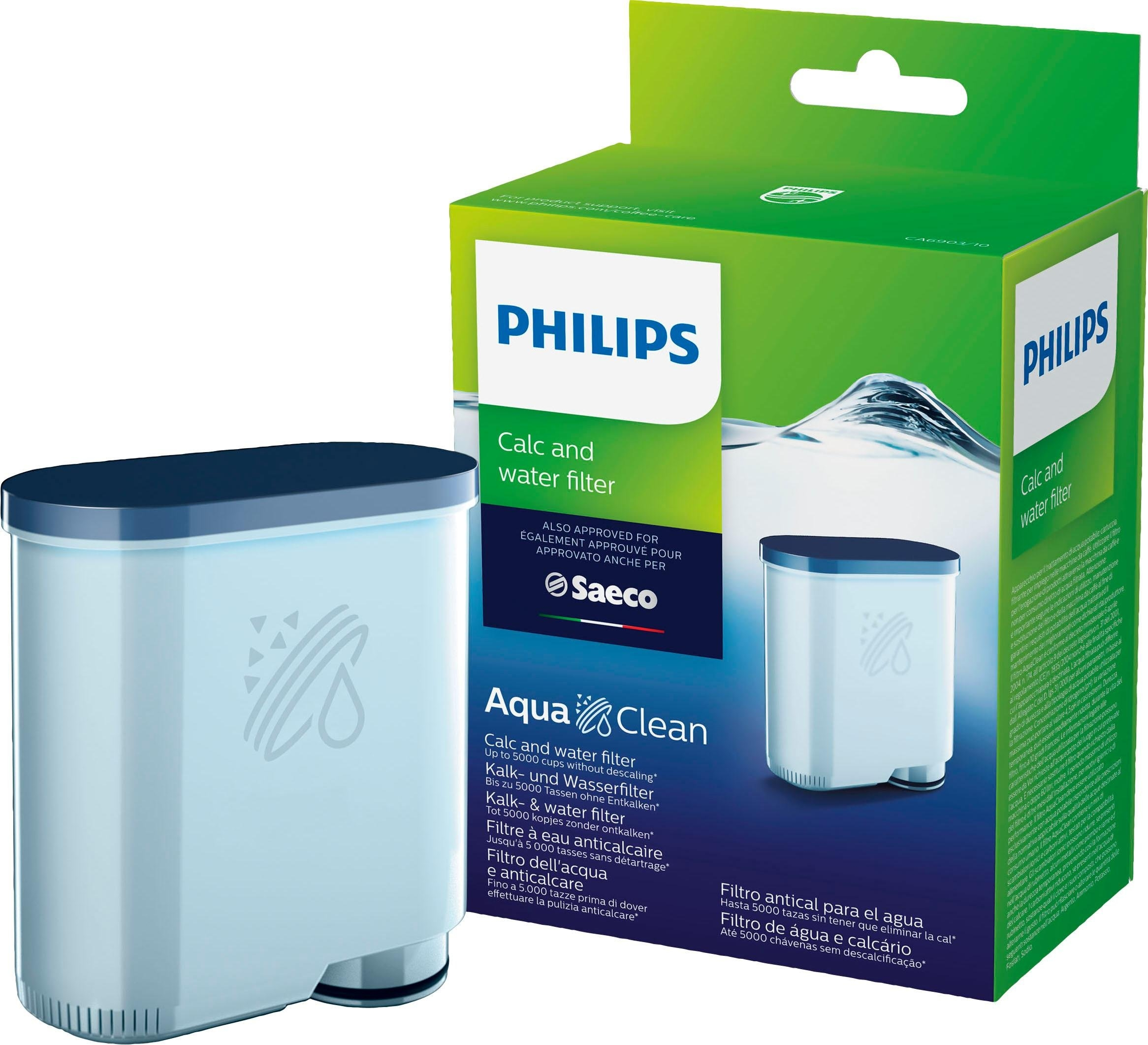 Saeco PHILIPS Kalk/waterfilter SAECO CA6903/00 AquaClean nu online kopen bij OTTO