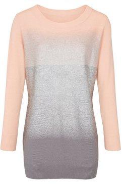 longline-pullover beige