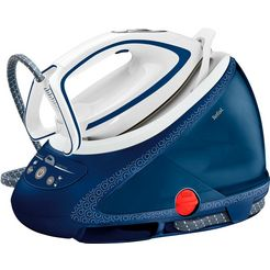 tefal stoomstrijksysteem pro express ultimate care gv9580, 1900 ml waterreservoir, 2600 w blauw