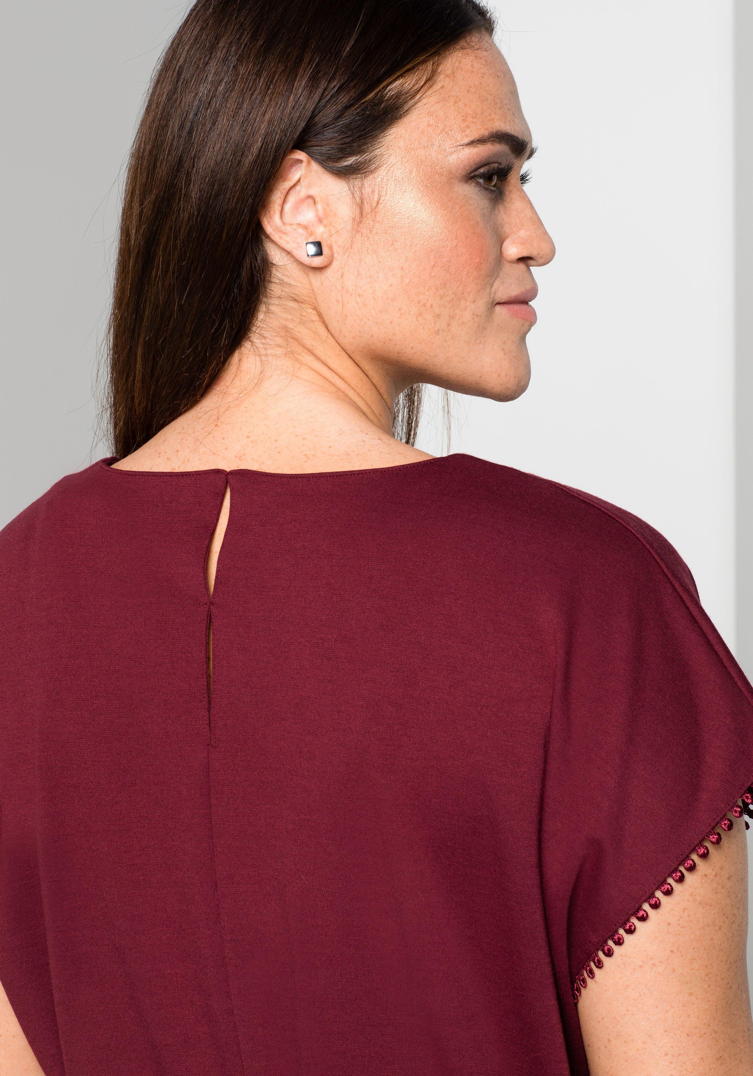 Winkel Online Shirtjurk Sheego Style De In nOk08wP