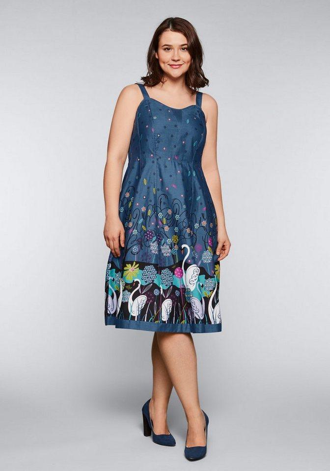 Joe Browns jurk in overgooiermodel blauw