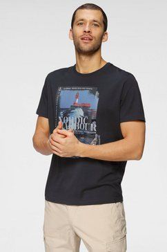 tom tailor shirt met print blauw