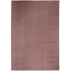 hoogpolig kleed, »soft dream«, oci die teppichmarke, rechthoekig, hoogte 30 mm, machinaal geweven bruin