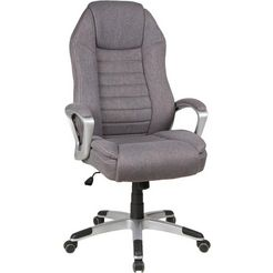 duo collection bureaustoel »dirk« grijs