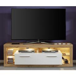 trendteam tv-meubel »rock«, breedte 150 cm beige