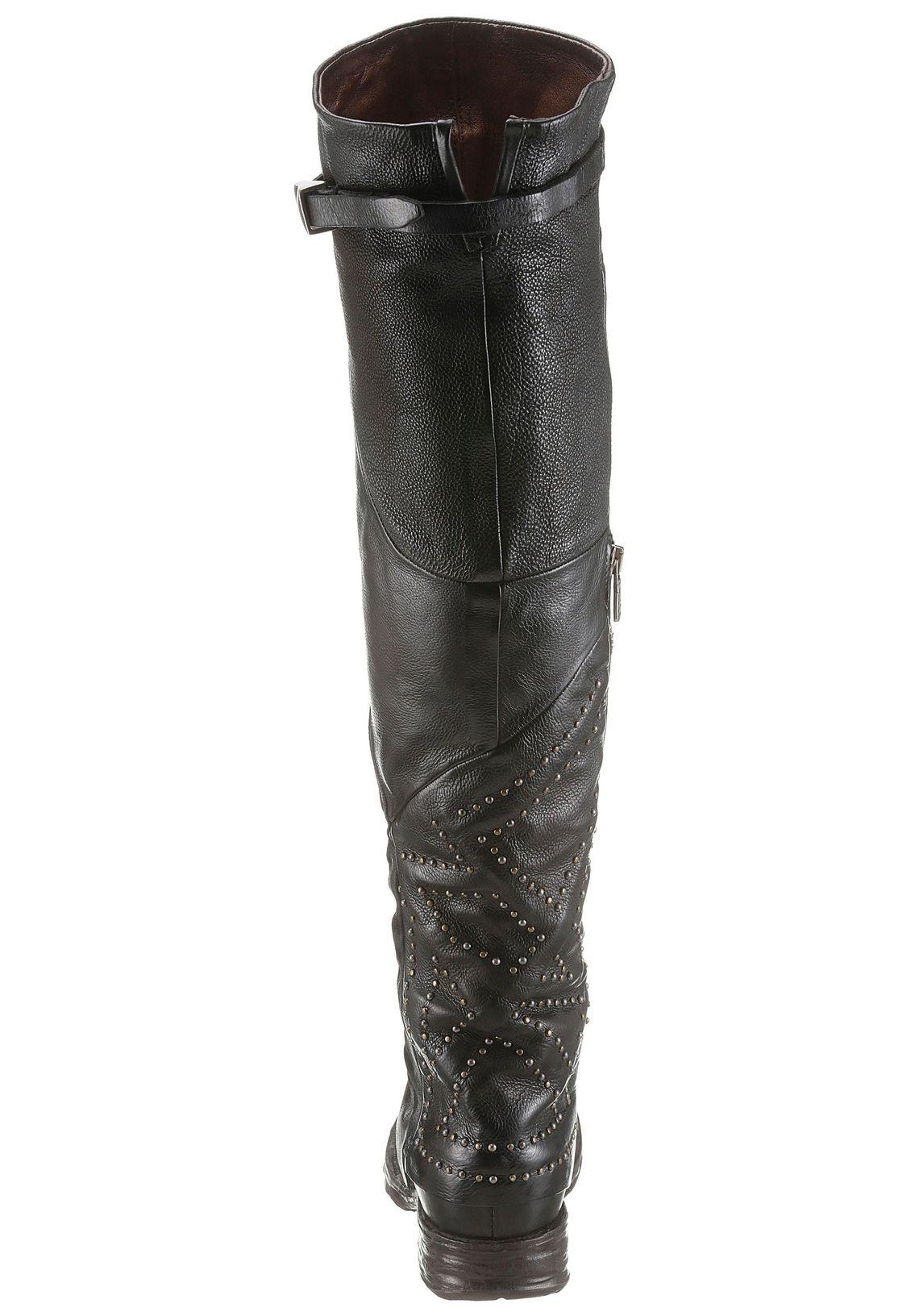 A.S.98 overknee-laarzen online bestellen  zwart