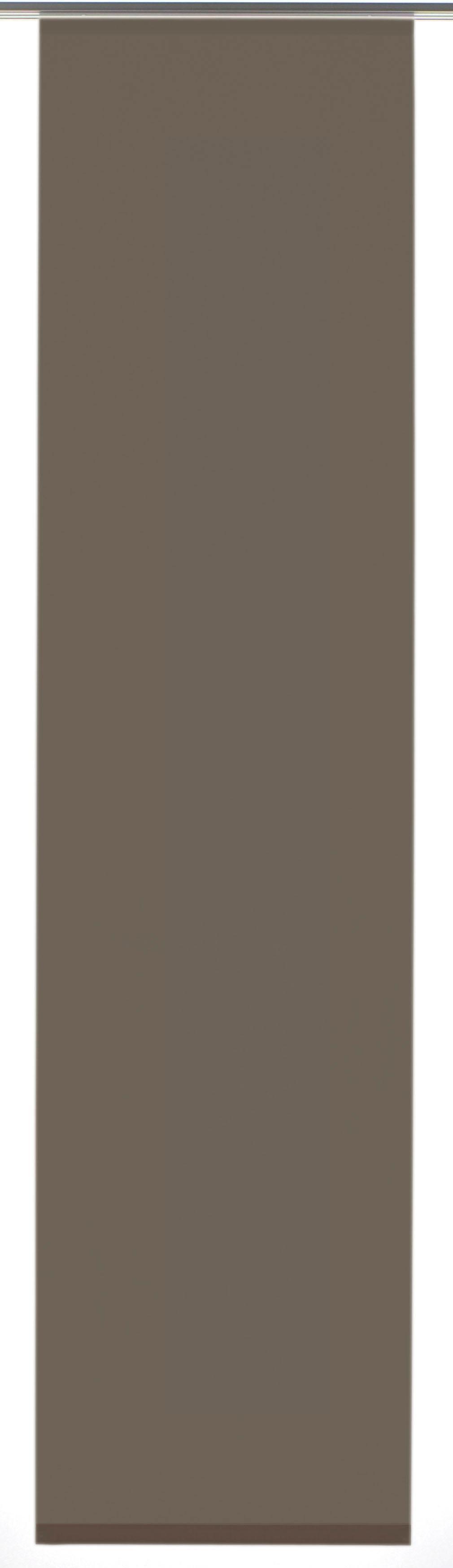 GARDINIA Paneelgordijn Entry met wit railsysteem HxB: 245x60 (1 stuk) in de webshop van OTTO kopen