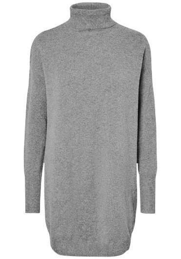Vero Moda tricotjurk BRILLIANT grijs