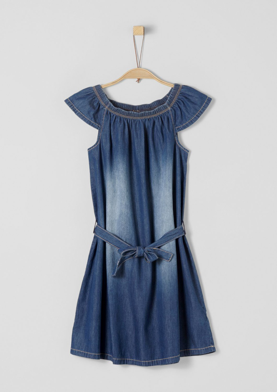 Licht Blauwe Jurk : S oliver red label junior jurk van licht denim voor meisjes online
