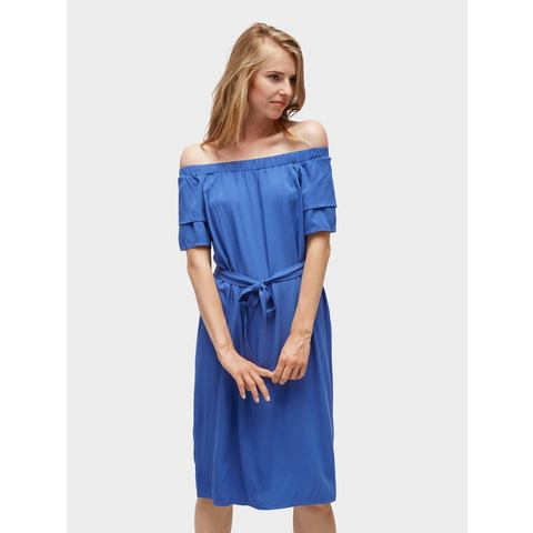 TOM TAILOR jerseyjurk Schlichtes Off Shoulder Kleid