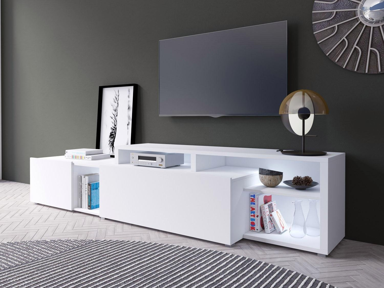 TRENDMANUFAKTUR Tv-meubel »Vento«, breedte 225 cm - verschillende betaalmethodes