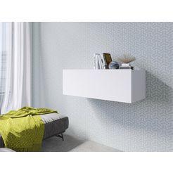 hangende kast »vento«, hoogte 30,8 cm wit