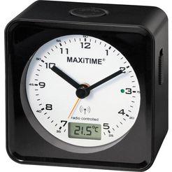 maxitime radiografische wekker »950544« zwart
