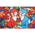 luxor living vloerkleed voor de kinderkamer vriendschap multicolor