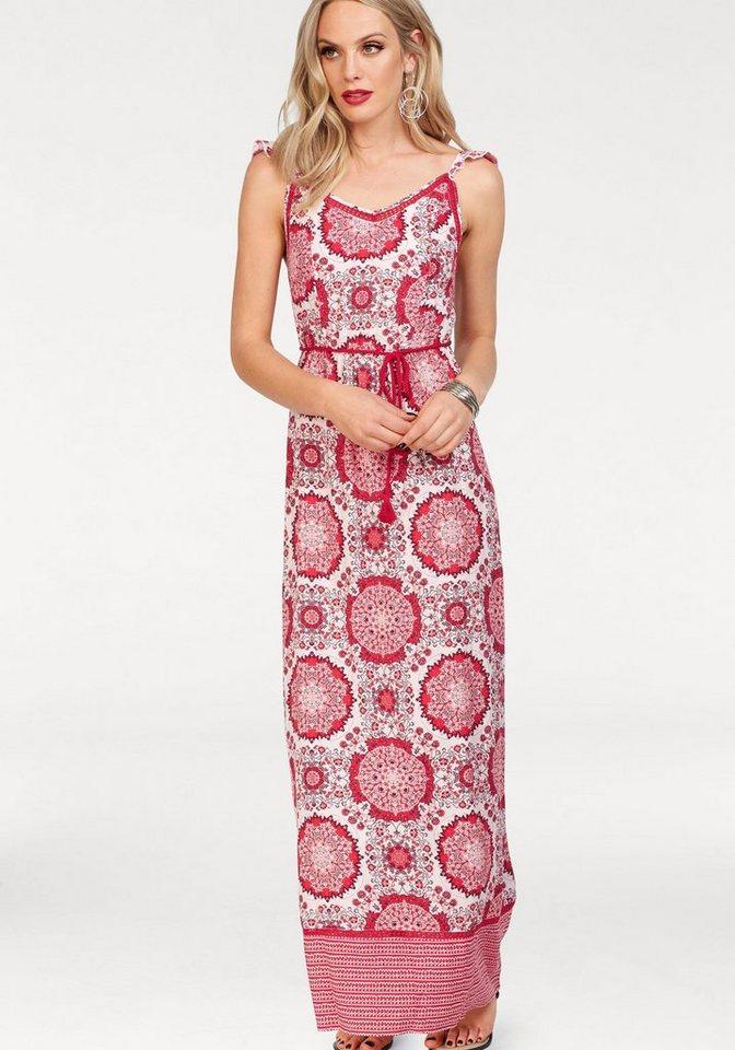 ONLY maxi-jurk SUMMER rood