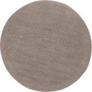vloerkleed, »jerez«, andiamo, rond, hoogte 8 mm, machinaal geweven beige