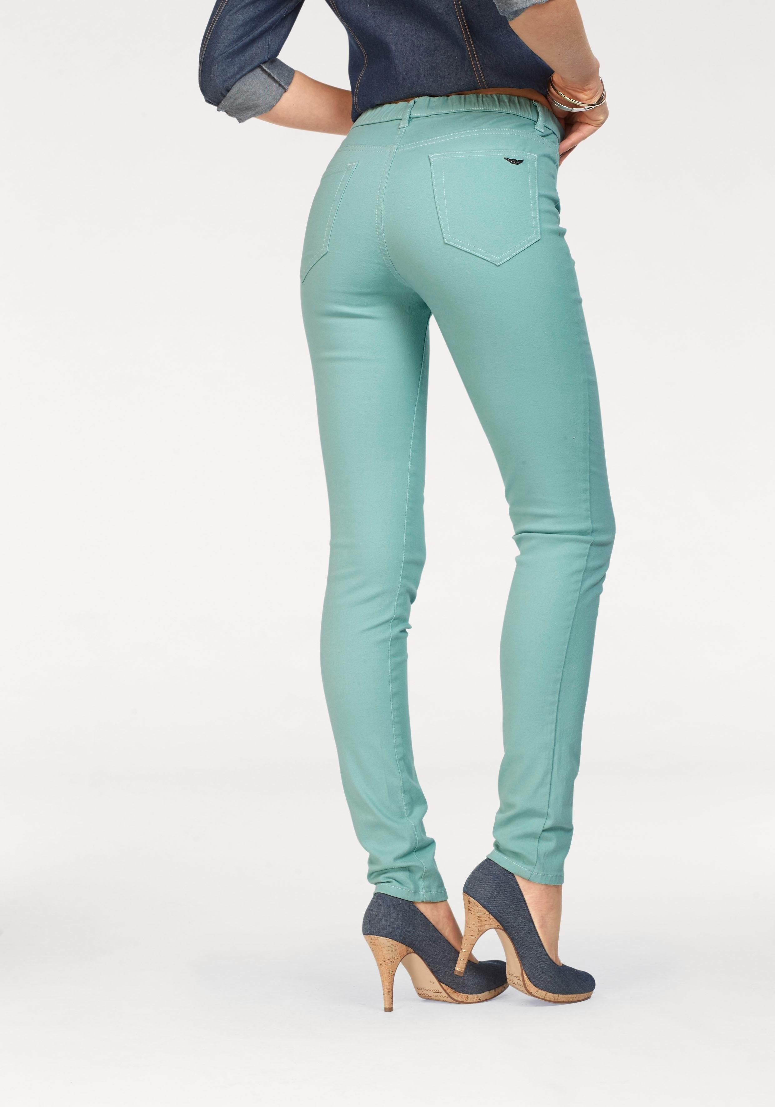 ARIZONA jeansjegging »Met naar binnen geplaatste elastische band« in de webshop van OTTO kopen