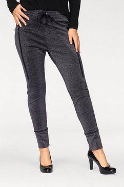 mac comfortbroek »future pants« zwart