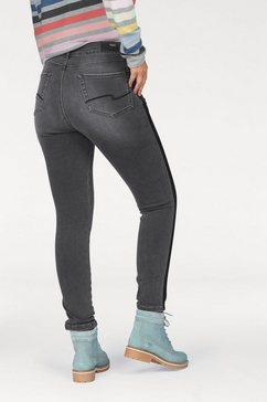 angels skinny fit jeans »athletic galon« grijs