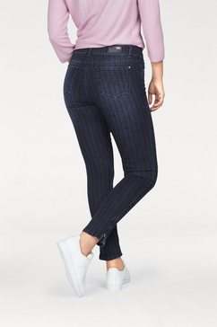 angels skinny fit jeans »skinny zip« blauw